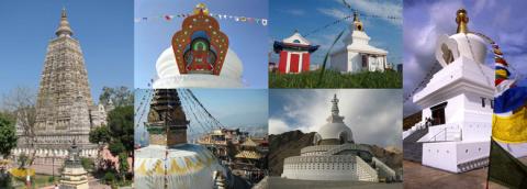 Объемная мандала — Буддийская ступа