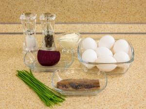 Рецепт: Яйца, фаршированные …
