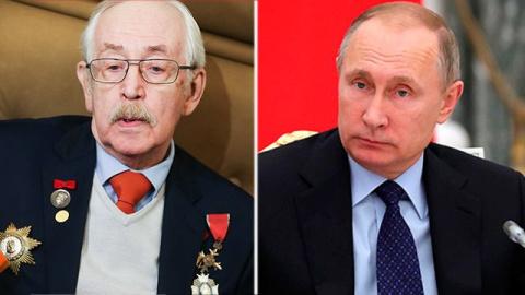 Василий Ливанов — Путину: «Даже не думай уходить! »