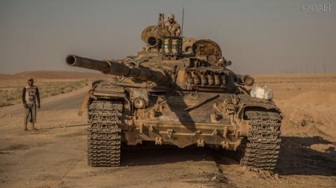 Пальмира: САА при поддержке ВКС РФ зачистила от ИГ город Эс-Савванет, закрыв Акербатский «котел»