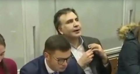 Саакашвили заподозрили в упо…
