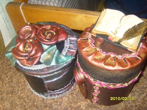 Мои сундуки, ларцы и шкатулки