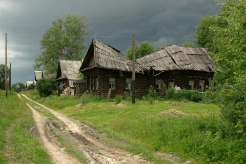 Эти снимки российской глубинки понравились европейцам и фотограф стал знаменит!
