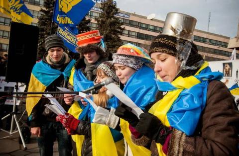 Крик отчаяния украинской инт…