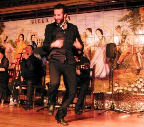 Фаррука — мужской фламенко