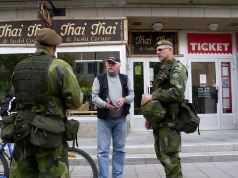 Шведам рассказали, что те стали больше хотеть в НАТО...