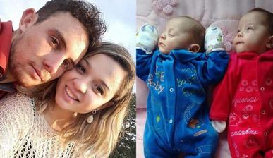 Бразильская мама родила двой…