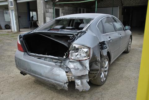 Вот так ремонтируется автомобиль.