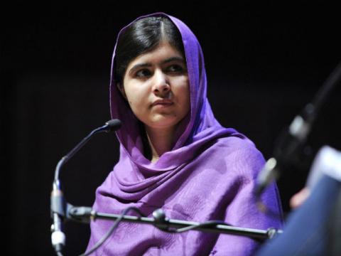 Самая молодая лауреат Нобеле…