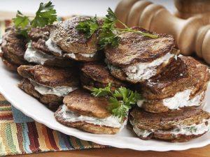 Оладушки из печени в нежном …