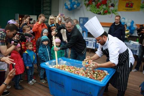 В первые выходные сентября Красная площадь на несколько часов превратится в огромную кухню