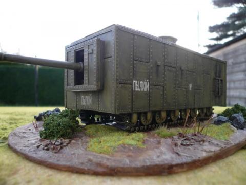Первые русские танки