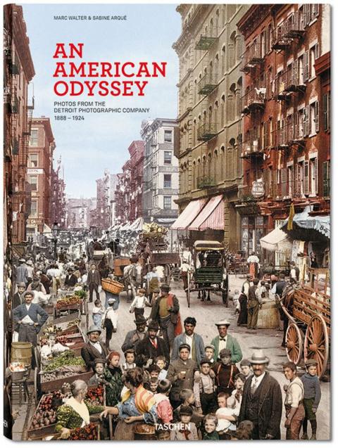 Американская Одиссея - самые первые цветные фотографии США