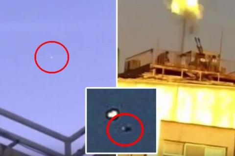 В Иране военные обстреляли НЛО из зенитных орудий