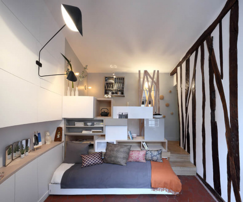 Квартира студия 12м², в которой есть все для комфортной жизни