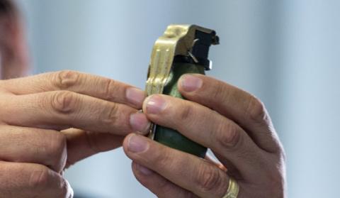 Убийство киллера с гранатой …