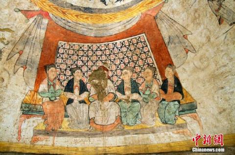 Гробница периода Монгольской империи Юань найдена в Китае