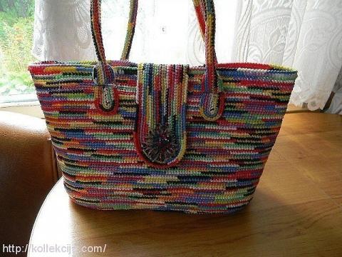 Как связать красивую сумку и…