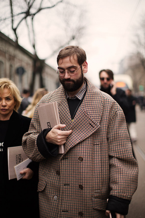 On the Street…After Fendi, Milan
