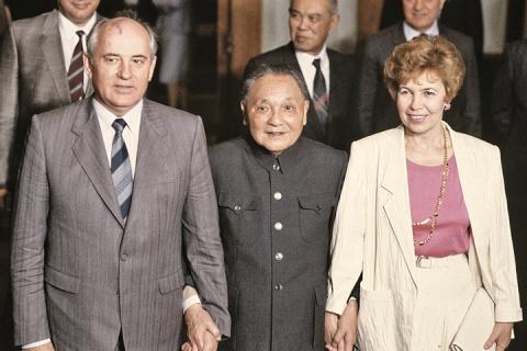 Почему Горбачев не пошел по …