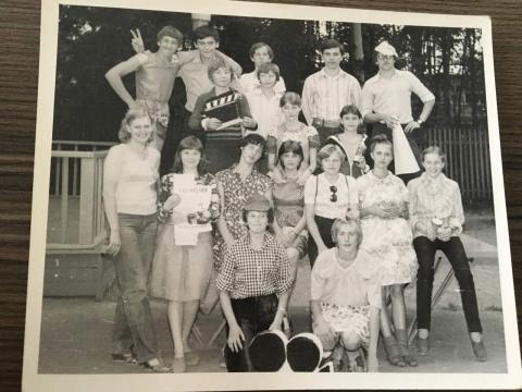 1981 2 смена Наша киносъёмочная группа