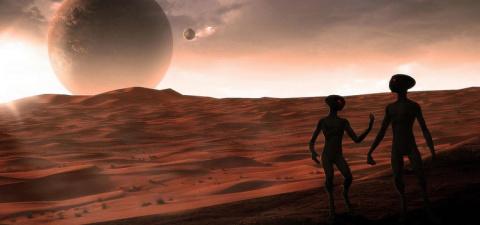 Директор SETI уверен, что земная жизнь зародилась на Марсе