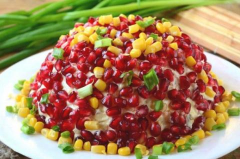 Шикарный салат к новогоднему…