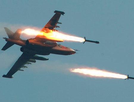 Су-25 стирают с лица земли б…