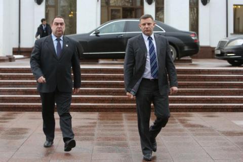 Александр Захарченко и Игорь…