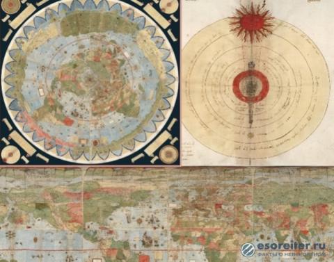 Мир полон странных загадок, и тому подтверждением - карта Урбано Монте