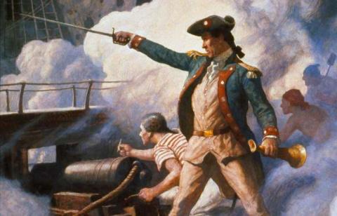 Джон Пол Джонс: моряк-авантюрист, ставший героем и в Америке, и в России