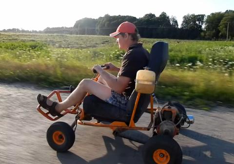 Go-Ped TRQ или кресло с двиг…