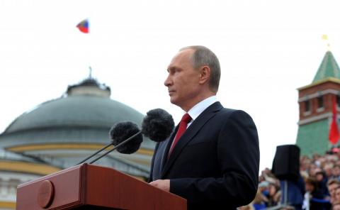Владимир Путин поздравил москвичей с Днём города 10 сентября