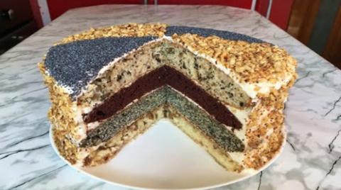 Классический королевский торт
