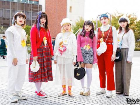 Модники и модницы с улиц япо…