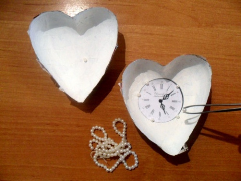 Сердце из папье-маше: мастер-класс. На конкурс