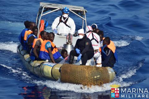 В Италии задержаны около 40 украинцев, подозреваемые в нелегальной перевозке мигрантов