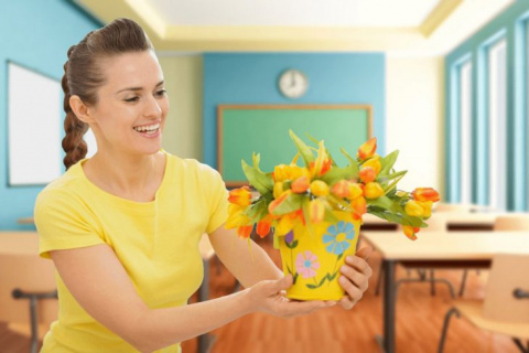 День учителя: украшаем класс…