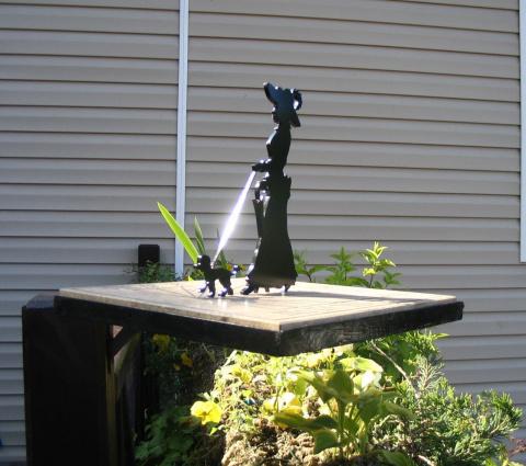 Солнечные часы на даче