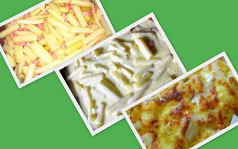 Запеканка из спаржи, картофеля и ветчины.Фото-рецепт.Olga Dell