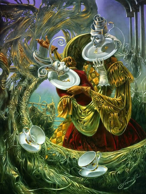 Sense of Absurdity_ Porcelain Waltz
