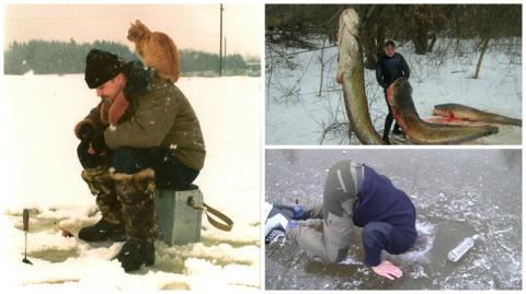 Зимняя рыбалка - это удовольствие, которое можно получить не раздеваясь