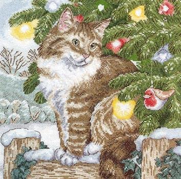новогодний котик
