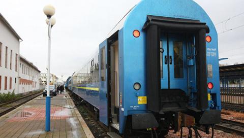 Новый украинский вагон слома…
