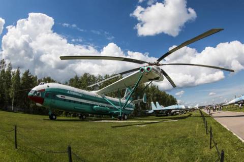 Вертолёт В-12 (Ми-12). Непре…