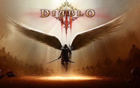 Тёмное фэнтези Украины: монумент в честь бойцов АТО украсили изображением из Diablo III