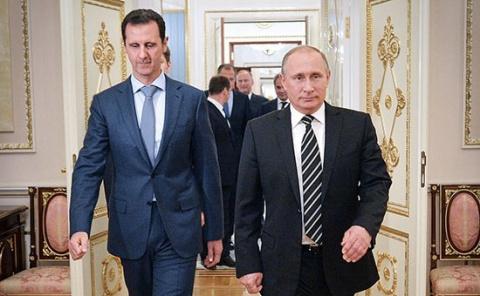 Позиция Путина по президенту Сирии не менялась — Песков