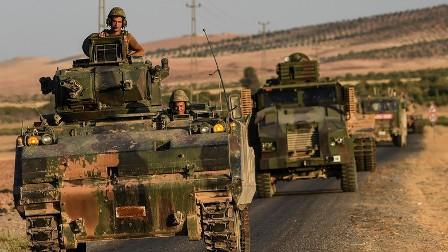 Турецкая армия атакует ополч…