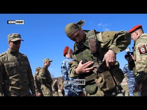 Спецназовцы ЛНР сдают экзамены на краповые береты