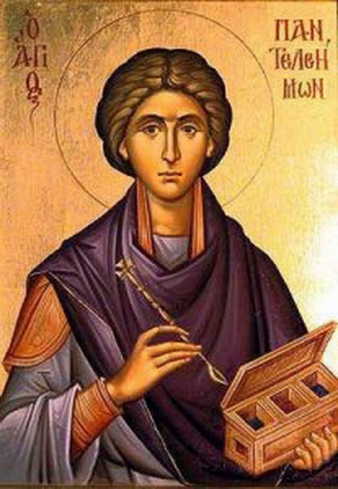 Сильнейшая молитва о здоровье Панталеймону Целитерю